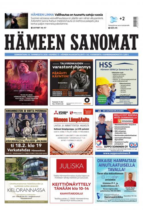 Helsingin Sanomat Hinta