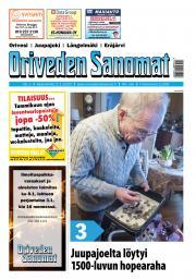 Oriveden Sanomat 2.1.2020