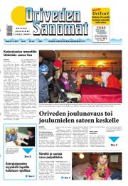 Oriveden Sanomat 27.11.2012