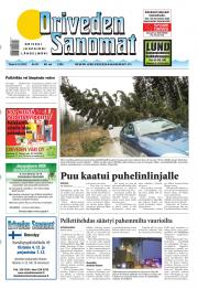 Oriveden Sanomat 04.12.2012