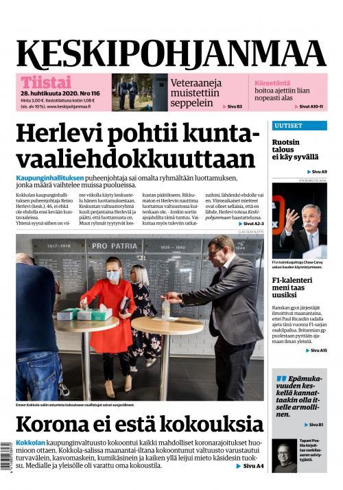 KESKIPOHJANMAA 28.4.2020 Lehtiluukku.fi