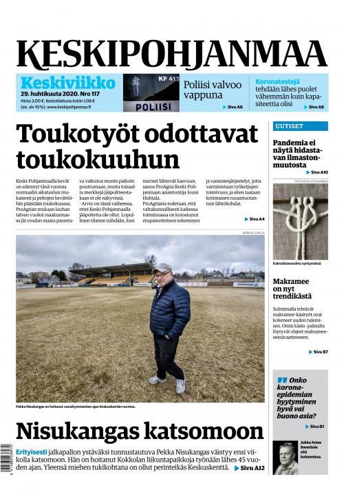 KESKIPOHJANMAA 29.4.2020 Lehtiluukku.fi