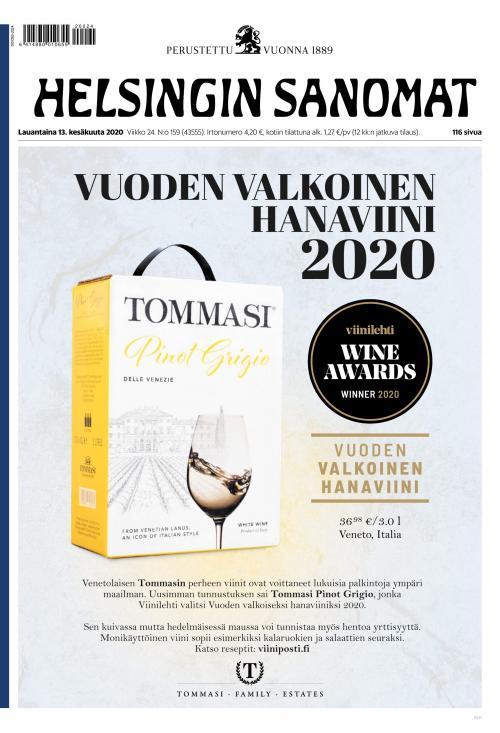 Helsingin Sanomat 13.6.2020 Lehtiluukku.fi