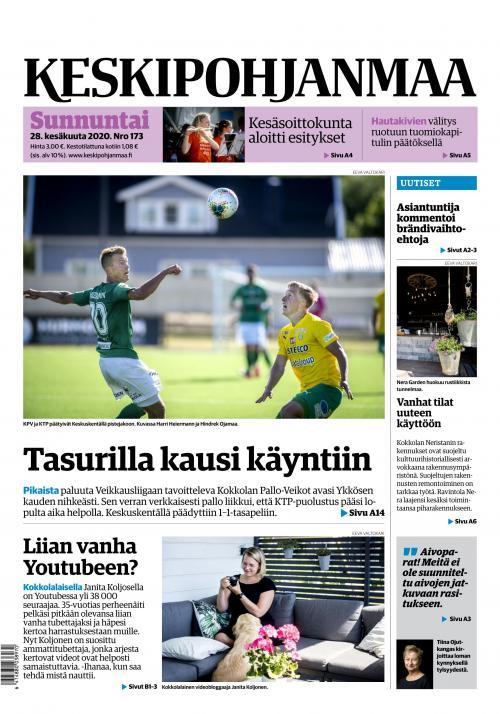 KESKIPOHJANMAA 28.6.2020 Lehtiluukku.fi