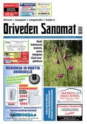 Oriveden Sanomat 1.7.2020