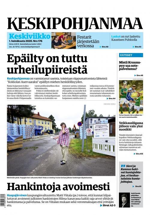 KESKIPOHJANMAA 1.7.2020 Lehtiluukku.fi
