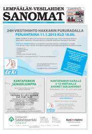 Lempäälän-Vesilahden Sanomat 28.12.2012