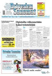 Oriveden Sanomat 28.12.2012