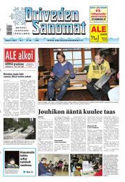 Oriveden Sanomat 03.01.2013