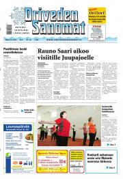 Oriveden Sanomat 15.01.2013