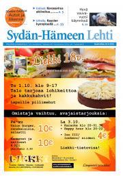 Sydän-Hämeen Lehti 30.9.2020