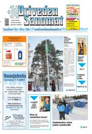Oriveden Sanomat 24.01.2013