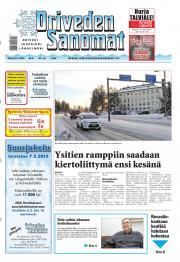Oriveden Sanomat 22.01.2013