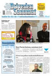 Oriveden Sanomat 29.01.2013