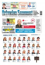 Oriveden Sanomat 5.4.2017