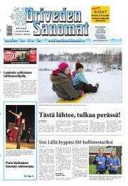 Oriveden Sanomat 26.02.2013