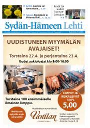 Sydän-Hämeen Lehti 21.4.2021
