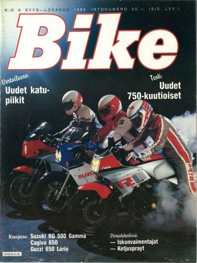 Alin hinta muotityyli luonteen kengät BIKE 6/1985 - Lehtiluukku.fi