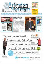 Oriveden Sanomat 14.03.2013