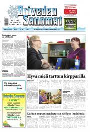 Oriveden Sanomat 19.03.2013