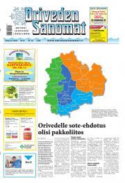 Oriveden Sanomat 21.03.2013