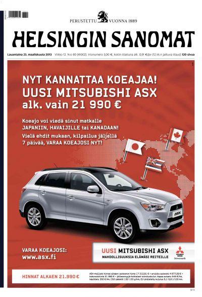 Helsingin Sanomat 23.03.2013 Lehtiluukku.fi