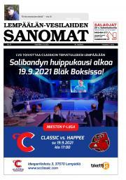 Lempäälän-Vesilahden Sanomat 15.9.2021