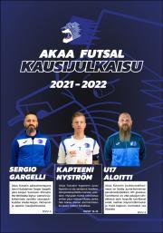 Akaa Futsal 13.10.2021