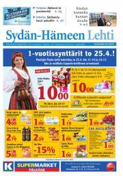 Sydän-Hämeen Lehti 24.04.2013