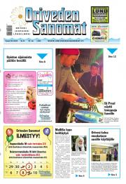 Oriveden Sanomat 25.04.2013