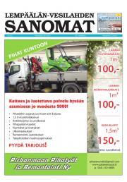 Lempäälän-Vesilahden Sanomat 29.04.2013