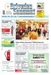Oriveden Sanomat 02.05.2013