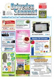 Oriveden Sanomat 08.05.2013