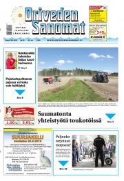 Oriveden Sanomat 16.05.2013