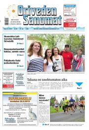Oriveden Sanomat 21.05.2013