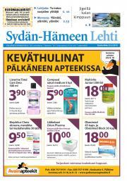 Sydän-Hämeen Lehti 22.05.2013