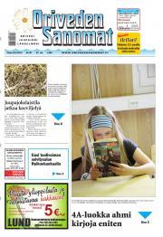 Oriveden Sanomat 28.05.2013