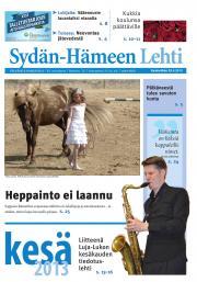 Sydän-Hämeen Lehti 29.05.2013