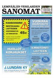 Lempäälän-Vesilahden Sanomat 30.05.2013
