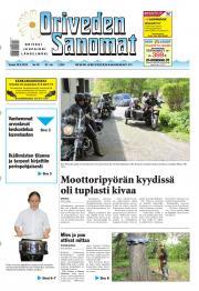 Oriveden Sanomat 30.05.2013