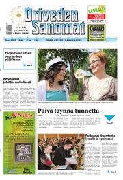 Oriveden Sanomat 04.06.2013