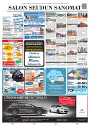 Lehtiluukku.fi - Salon Seudun Sanomat 24.01.2012 - Suomen laajin valikoima  digilehtiä netissä 497602e2b5