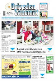 Oriveden Sanomat 06.06.2013