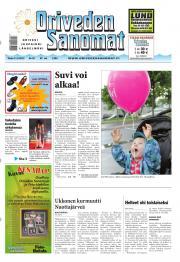 Oriveden Sanomat 11.06.2013