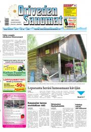 Oriveden Sanomat 13.06.2013