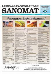 Lempäälän-Vesilahden Sanomat 17.06.2013