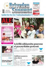 Oriveden Sanomat 18.06.2013