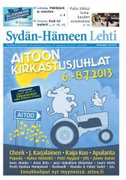 Sydän-Hämeen Lehti 19.06.2013