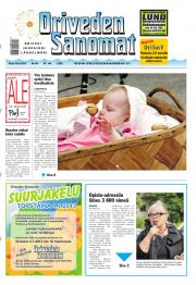 Oriveden Sanomat 25.06.2013