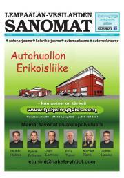 Lempäälän-Vesilahden Sanomat 27.06.2013